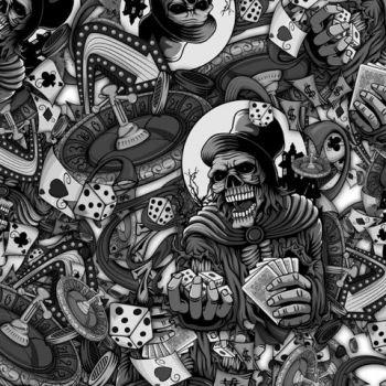 Black Skull 002